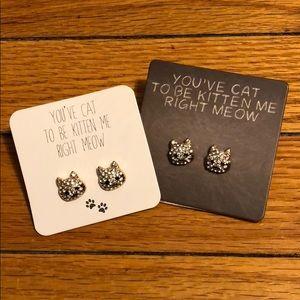 Lot of Cat Earrings from Francesca's
